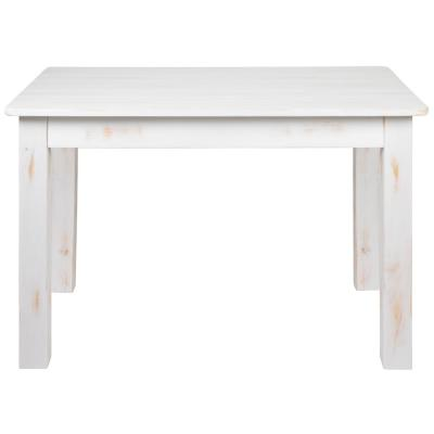 Antique Rustic White Dining Table