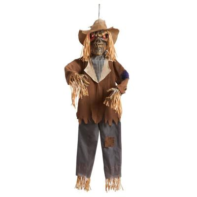 4 ft. LED Hanging Scarecrow