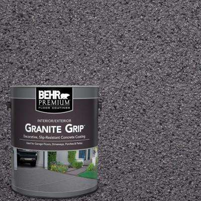 1 gal. #GG-06 Vineyard Rock Decorative Flat Interior/Exterior Concrete Floor Coating