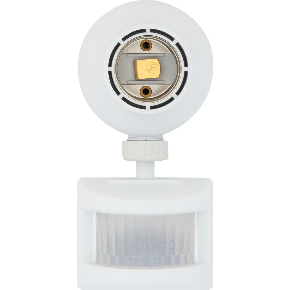 Motion-Sensing Light Control, White