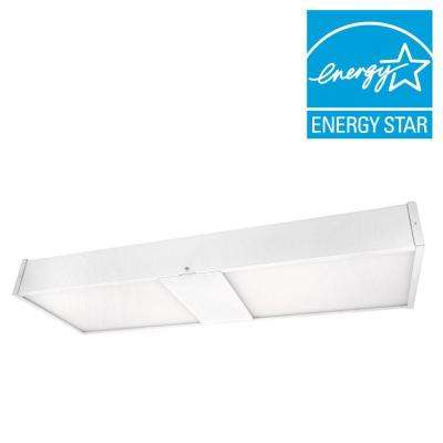 NICOR 21 in. White 4000K LED Wrap Replacement