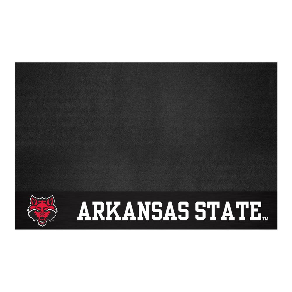 FANMATS NCAA 26 in. x 42 in. Arkansas State University Grill Mat