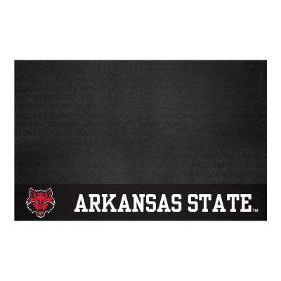 NCAA 26 in. x 42 in. Arkansas State University Grill Mat