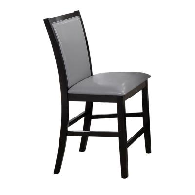 Grazia Expresso Side Chair with Tufted Seats (Set of 2)