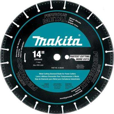 14 in. Metal Cutting Segmented Rim Diamond Blade