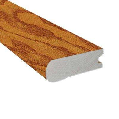 Oak Harvest 0.81 in. Thick x 3 in. Wide x 78 in. Length Hardwood Flush-Mount Stair Nose Molding