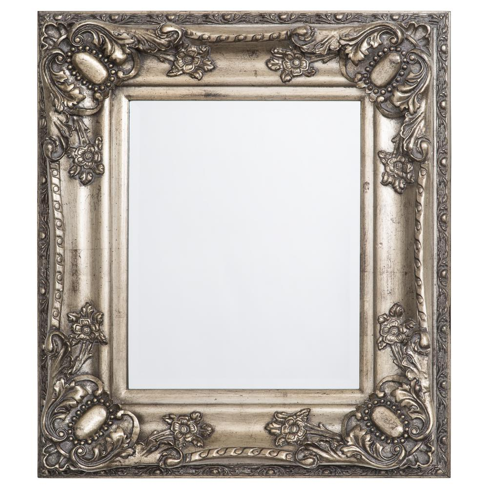 Yosemite 27 in. x 31 in. Rectangular Decorative Antique W...