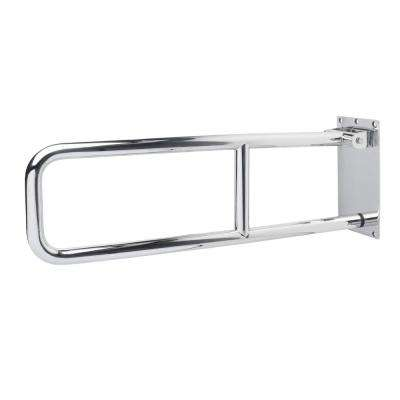 29 in. Flip-up Grab Bar in Polished Stainless Steel