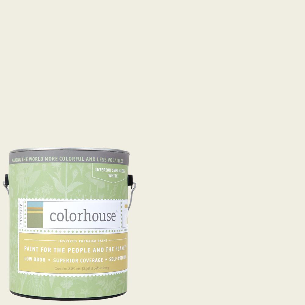 1 gal. Bisque .02 Semi-Gloss Interior Paint