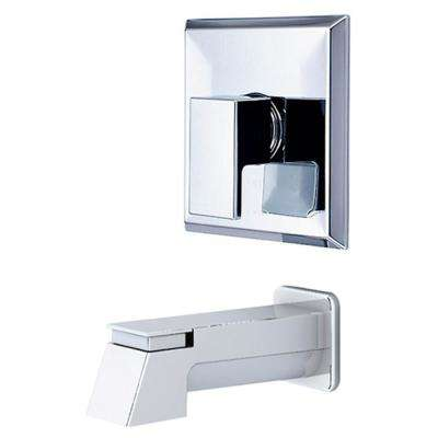 Mod 1-Handle Tub Trim Kit in Polished Chrome (Valve Not Included)