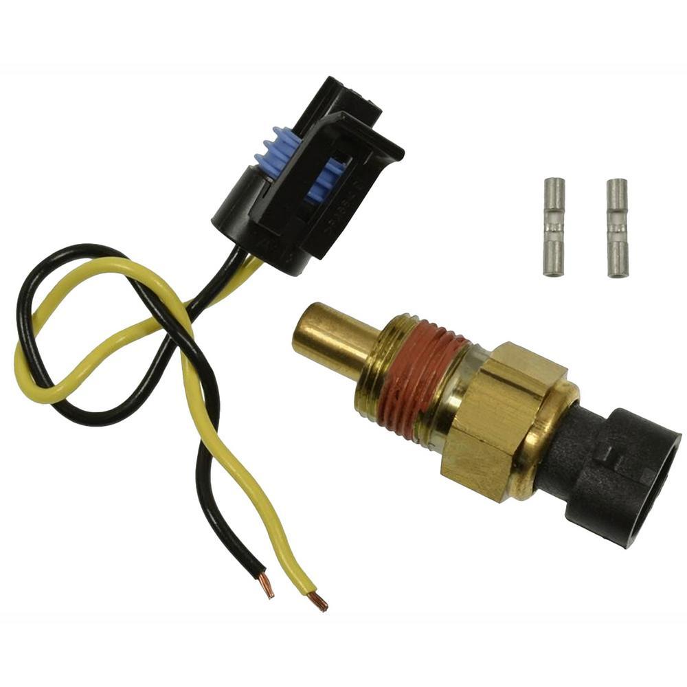 for LS1 LSX LS3 Engine Swap Adapter Aluminum Alloy Male M12x1.5 to Female 3//8 NPT HERCHR Coolant Temperature Sensor Sliver