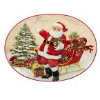 Holiday Wishes by Susan Winget 16.5 in. Oval Platter