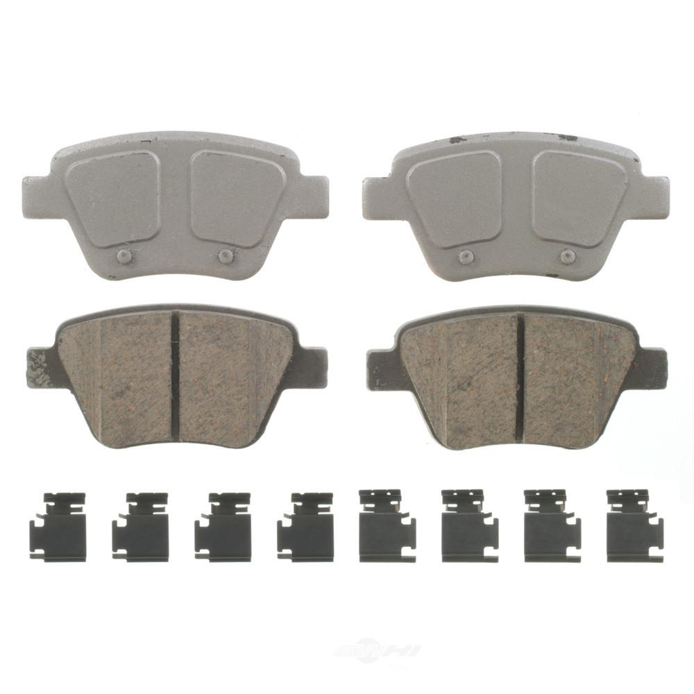 2015 Volkswagen Eos Suspension: Wagner Brake Rear ThermoQuiet Disc Brake Pad Fits 2010