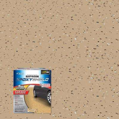 120 oz. Tan High-Gloss Low VOC One Car Garage Floor Kit