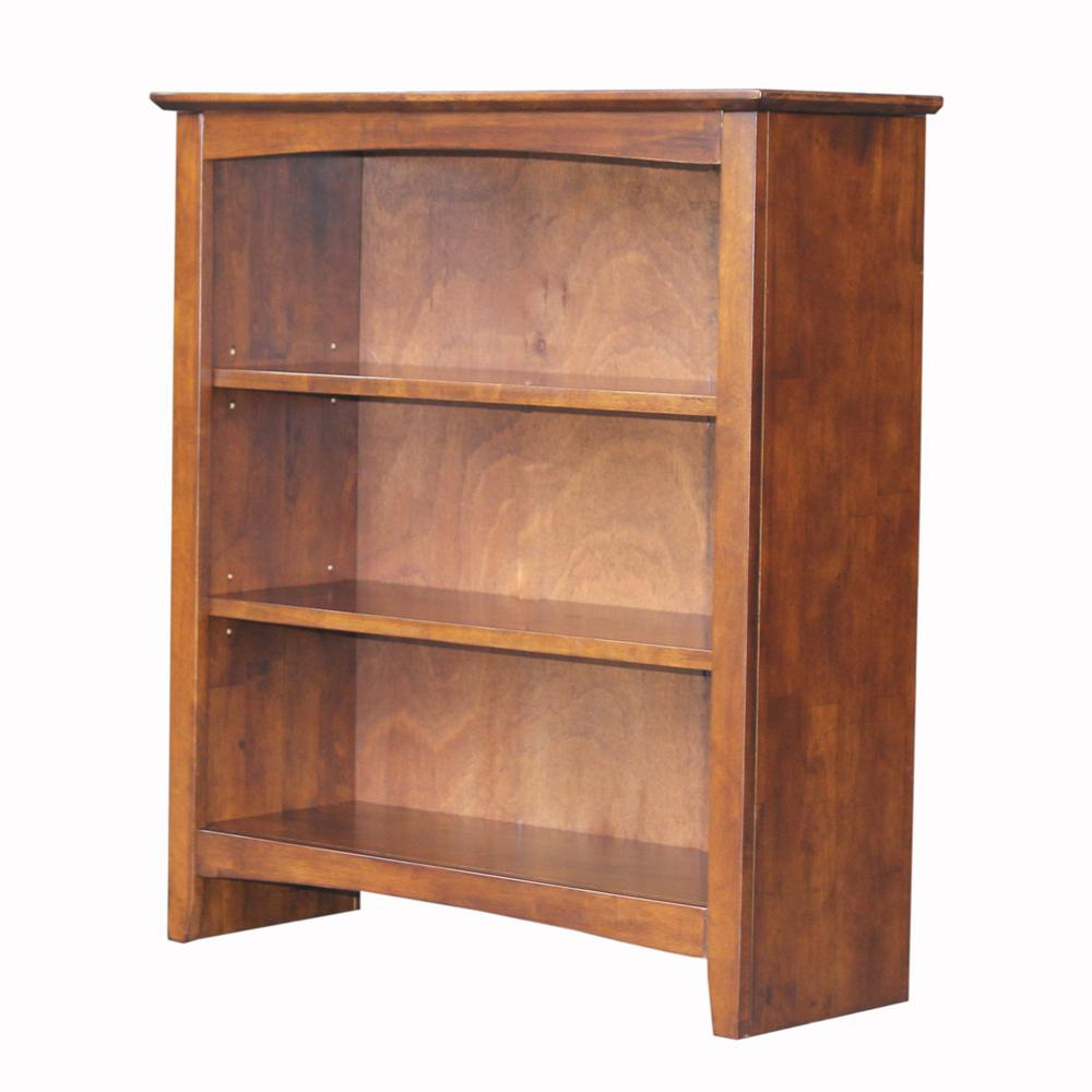 International Concepts Brooklyn 36 In H Espresso Bookcase