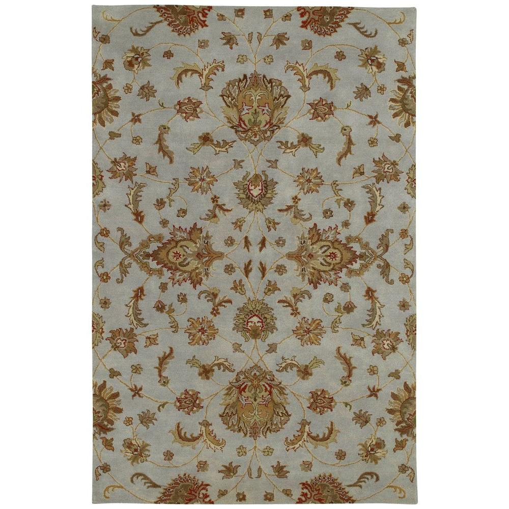 Kaleen Mystic Europa Pewter 5 ft. x 7 ft. 9 in. Area Rug