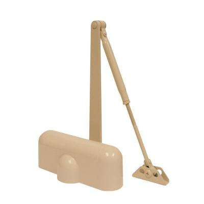Heavy-Duty Ivory Residential Door Closer