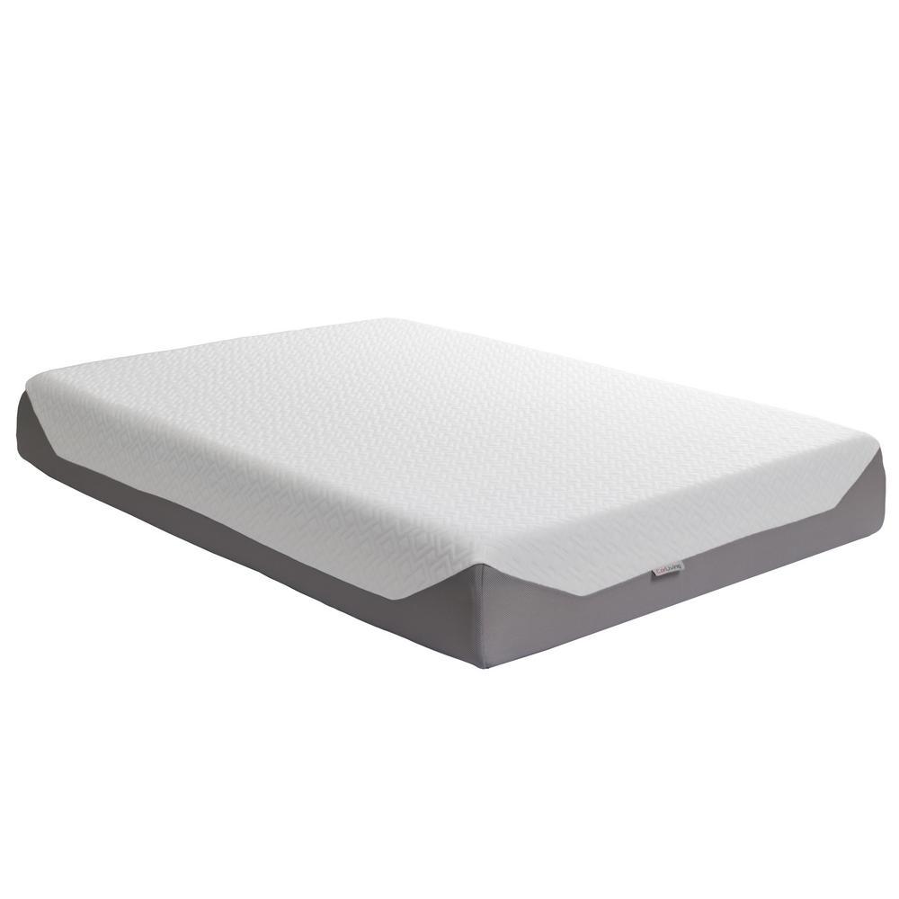 Sleep Collection 10 in. Double/Full Medium Firm Memory Foam Mattress