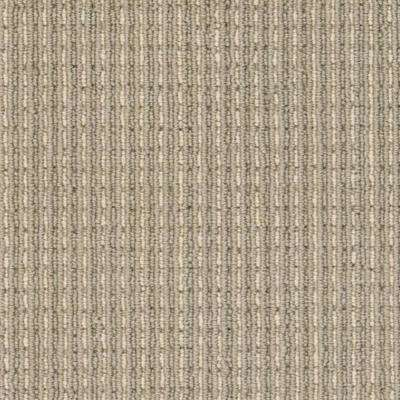 Carpet Sample - Upland Heights - Color Espresso Pattern Loop 8 in. x 8 in.