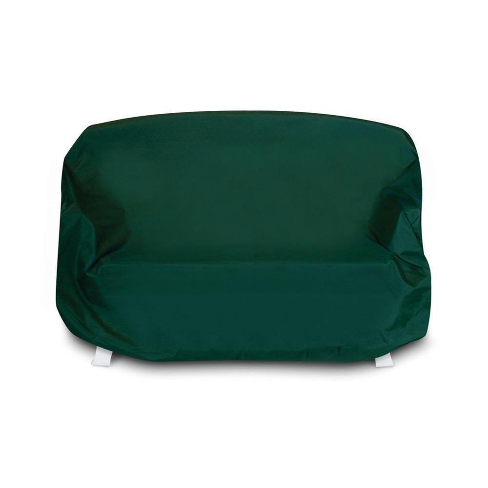 Two Dogs Designs Hunter Green Patio Sofa Cover-DISCONTINUED