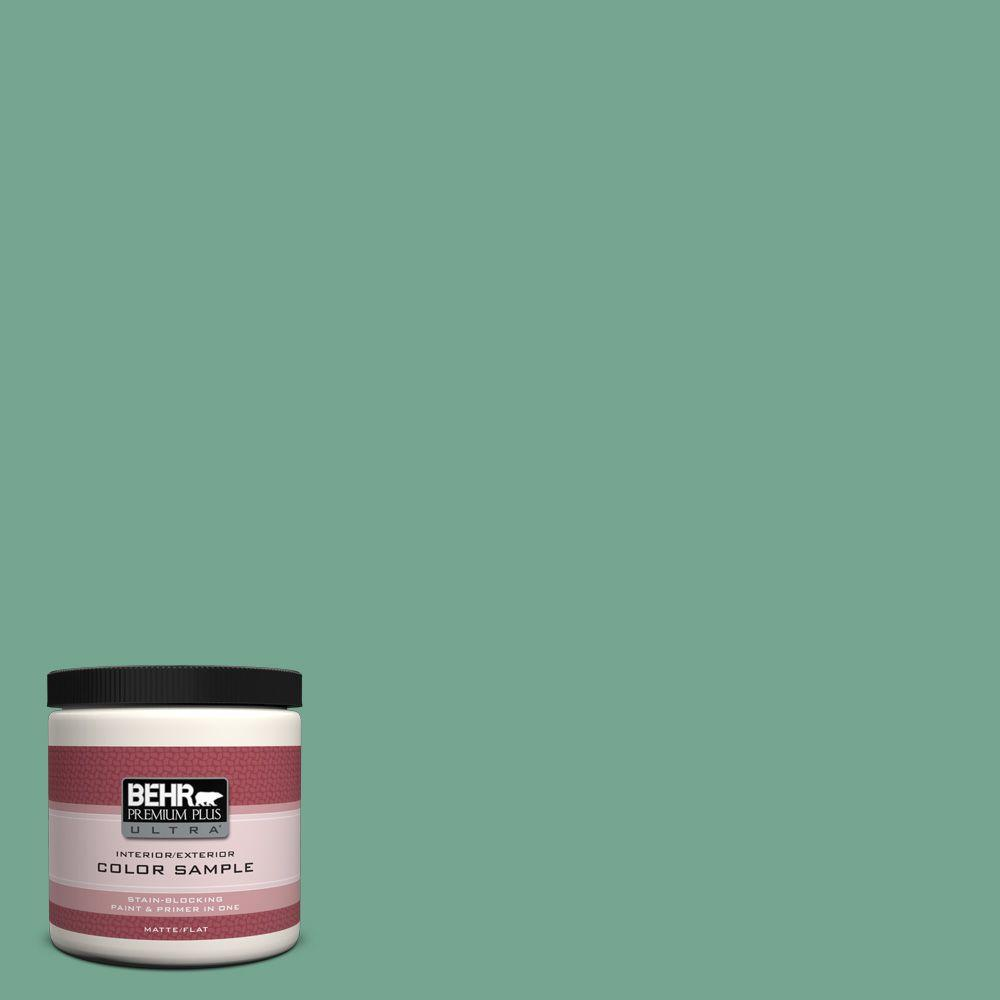 Behr Premium Plus Ultra 8 Oz M420 5 Free Green Matte Interior