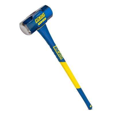 16 lbs. Hard Face Sledge Hammer with 36 in. Fiberglass Handle