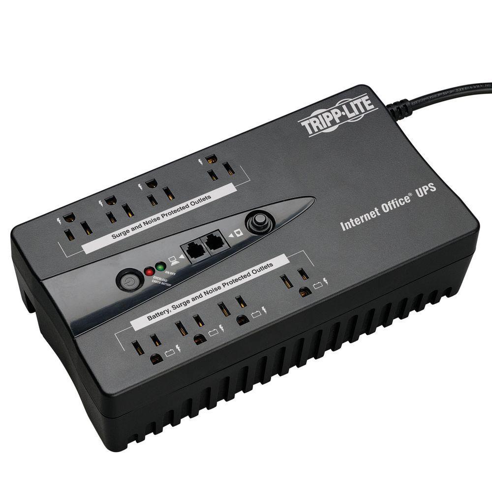 120-Volt 8-Outlet UPS Desktop Battery Back Up Compact DB9 RJ11 PC