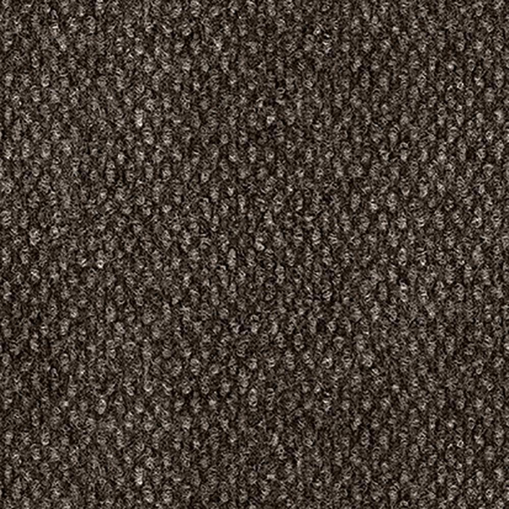 Design Smart Mocha Hobnail Texture 18 in. x 18 in. Indoor/Outdoor Carpet Tile (10 Tiles/22.5 sq. ft. / case)