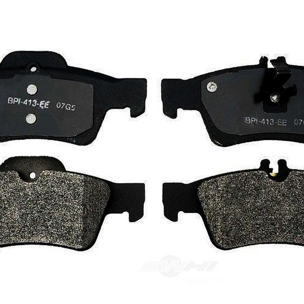 2003 2004 2005 2006 For Mercedes-Benz E320 Rear Semi Metallic Brake Pads