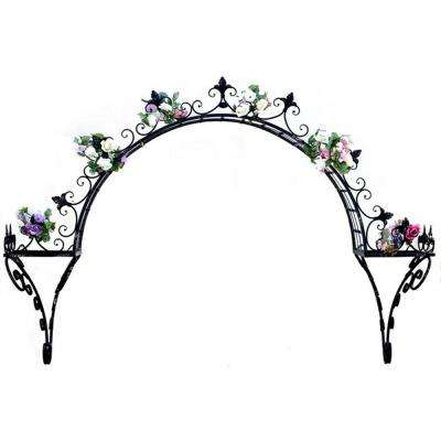 Wrought Iron Planter Stands Planters The Home Depot