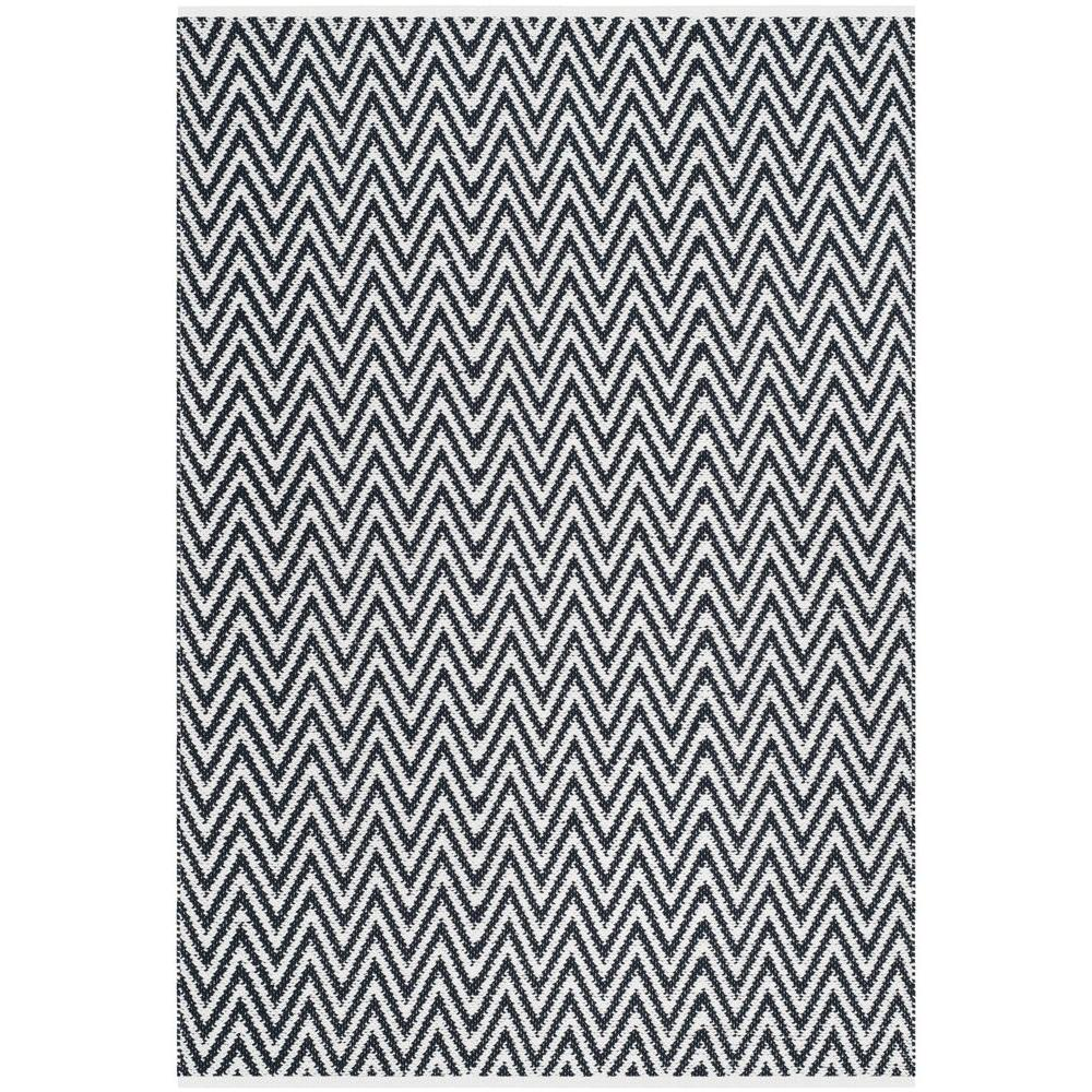 Safavieh Montauk Black Ivory 5 Ft X 7 Ft Area Rug