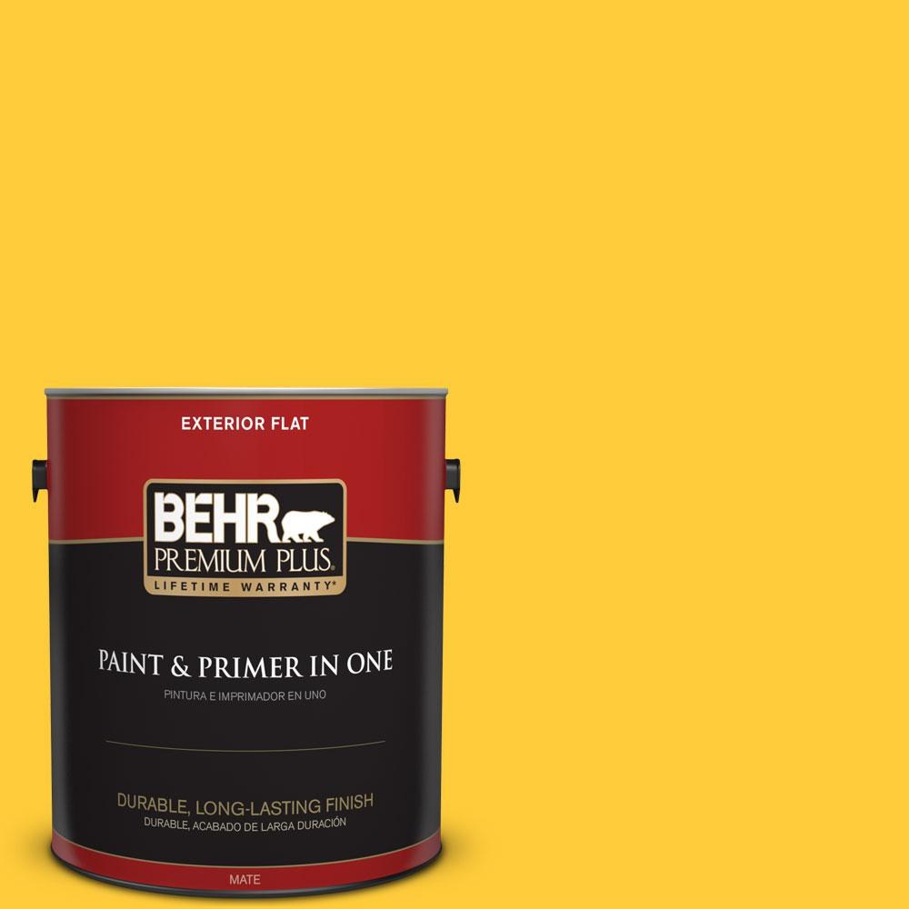 1-gal. #S-G-360 Bright Star Flat Exterior Paint