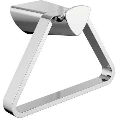 Zura Towel Ring in Polished Chrome