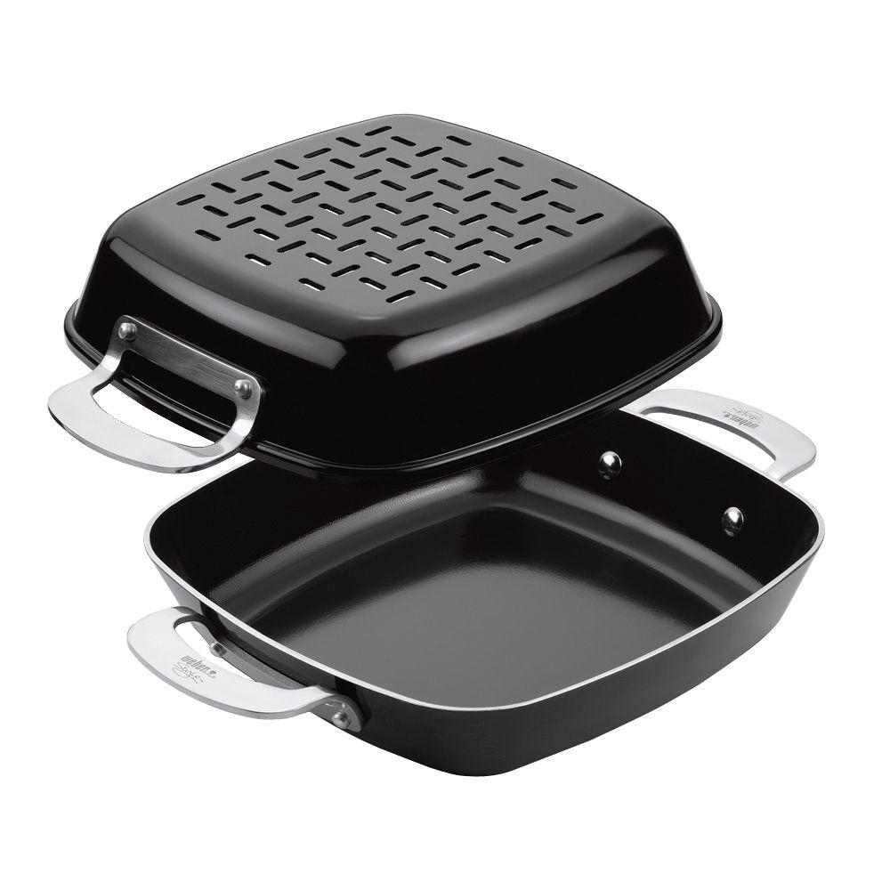 Weber Style Grill Pan Set