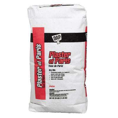 25 lbs. White Dry Mix Plaster of Paris