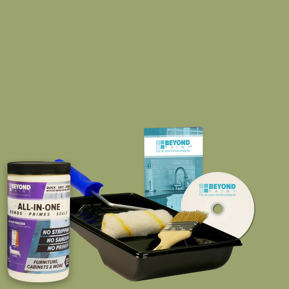 Home Depot Refacing Kitchen Cabinets Review: Beyond Paint 1 Qt. Sage Furniture, Cabinets And More Multi
