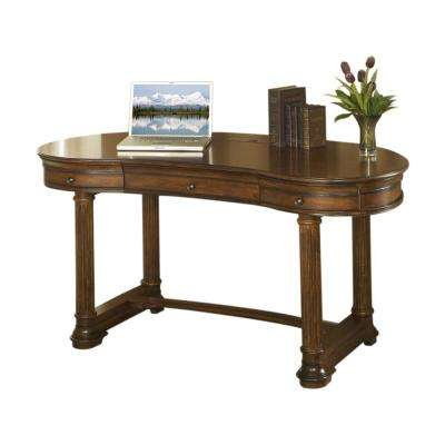 Winsome Burnt Sienna 60 In. Writing Desk