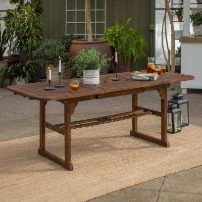 Rustic Patio Tables Patio Furniture The Home Depot
