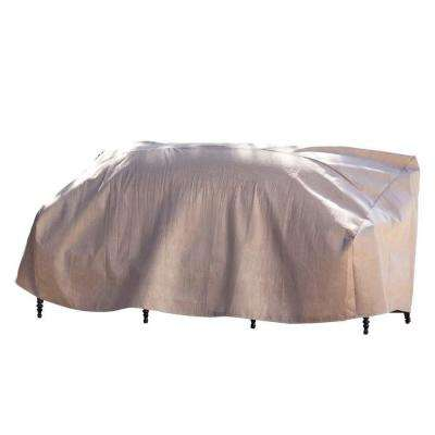 Elite 79 in. W Patio Sofa Cover with Inflatable Airbag to Prevent Pooling