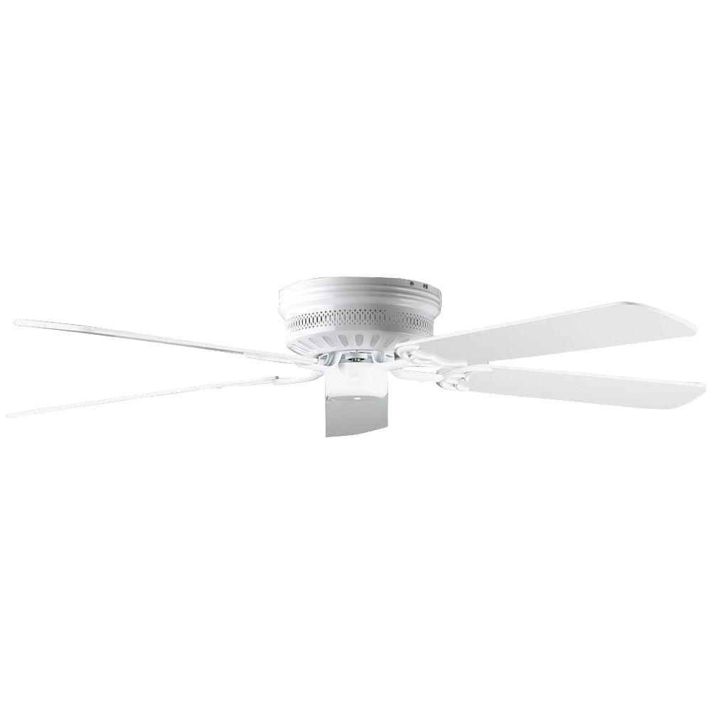High Quality Concord Fans Hugger Series 52 In. Indoor Polished Brass Ceiling Fan 52HUG5WH    The Home Depot