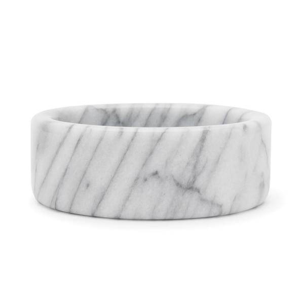 Wine Stand, 1-piece, White Marble Coasters