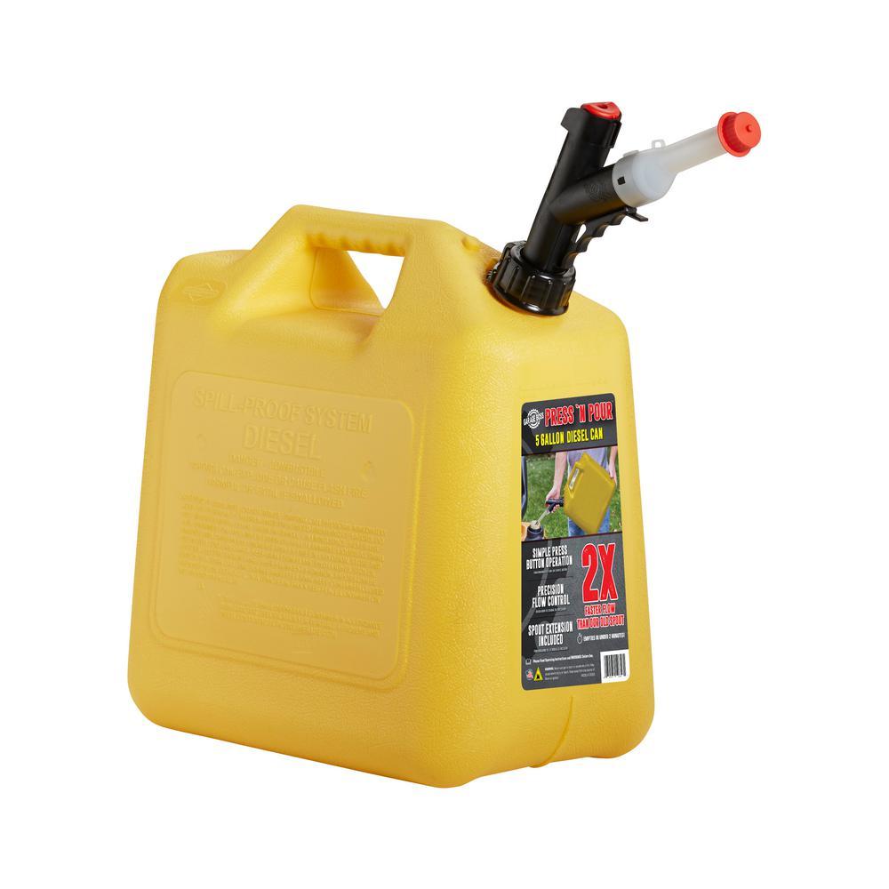 Press N Pour 5 Gal. Diesel Can