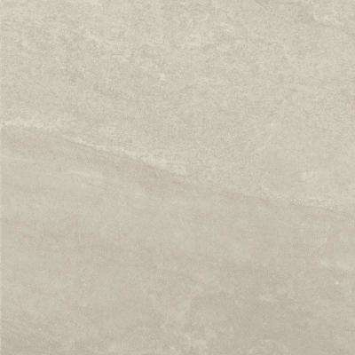North Lake Ultra Light Gray Matte 24 in. x 24 in. Glazed Porcelain Floor and Wall Tile (15.76 sq. ft. / case)