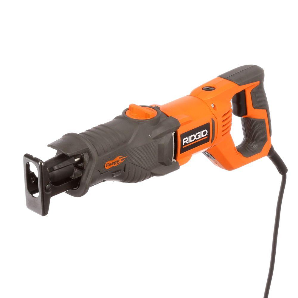 ridgid fuego 10 amp orbital reciprocating saw