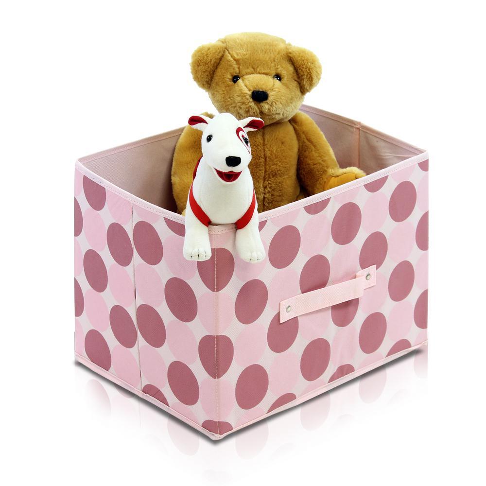 Furinno Laci Pink Fabric Soft Storage Organizer (3-Pack) 3-11144PI