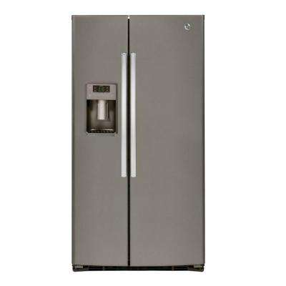 25.3 cu. ft. Side by Side Refrigerator in Slate, Fingerprint Resistant and ENERGY STAR