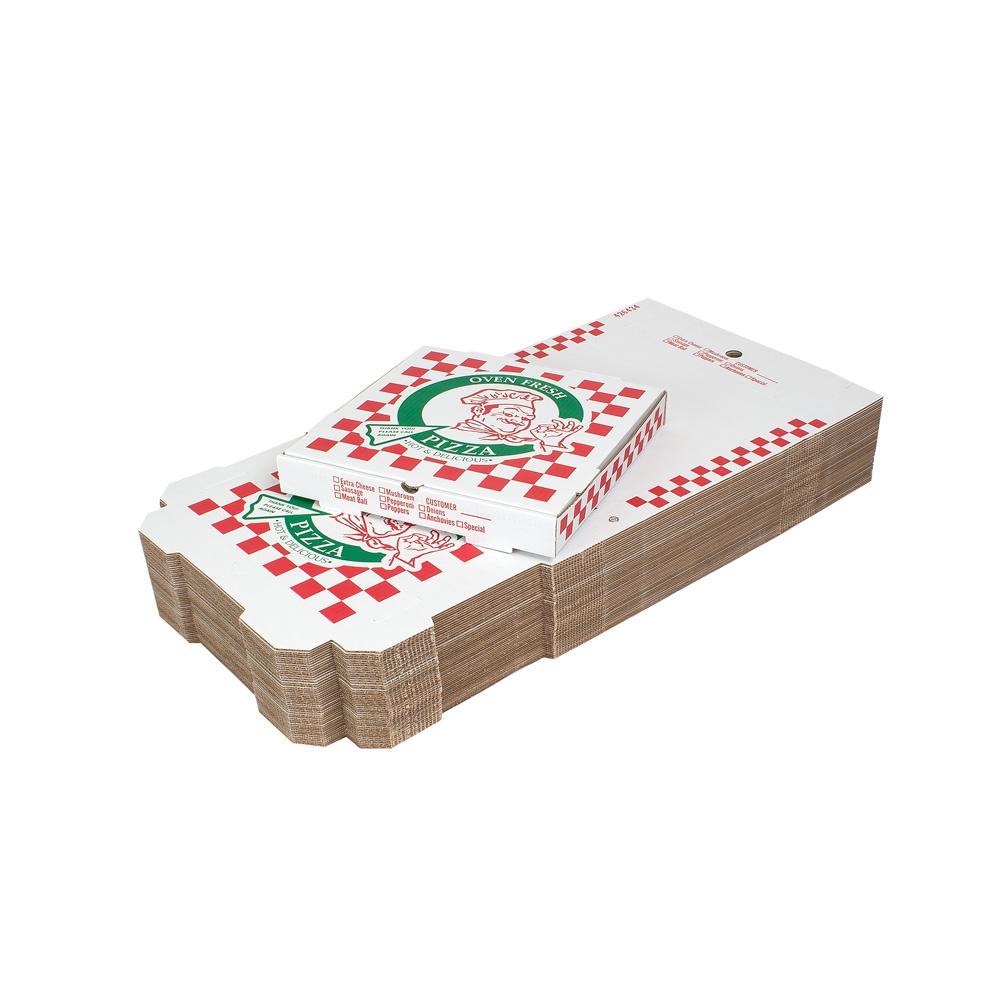 14 in. Pizza Box 50-Pack (14 in. L x 14 in. W x 1 7/8 in. D)