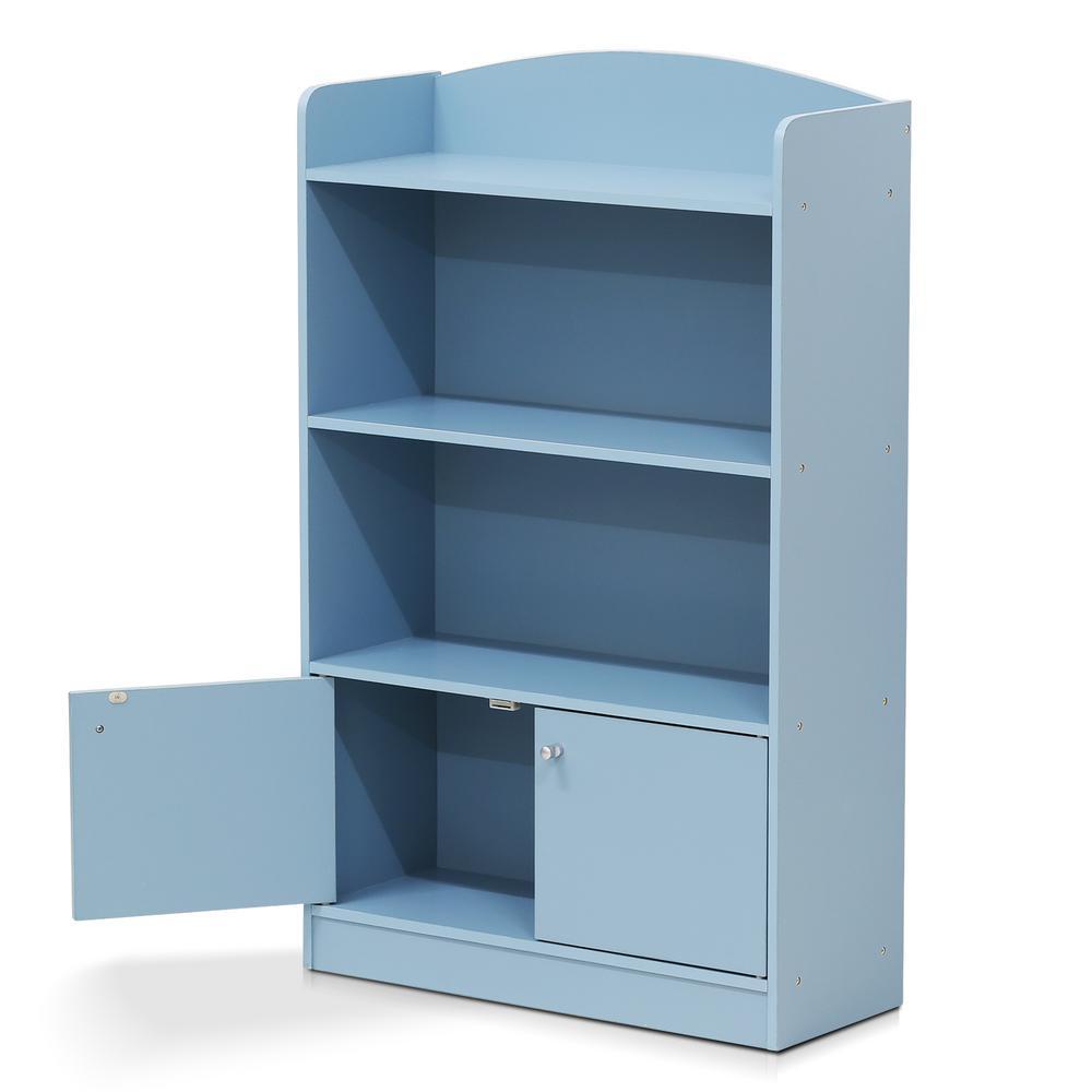 3-tier Shelf 2 Cube Bookshelf Storage Cabinet Display Home