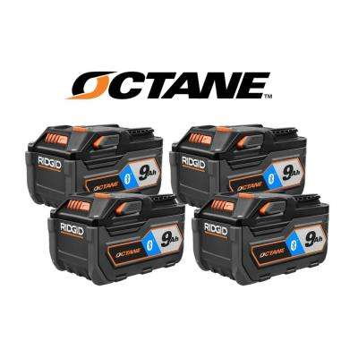 18-Volt 9.0 Ah Lithium-Ion Battery (4-Pack)