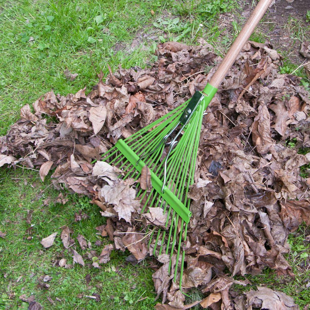 22-Tine Steel Leaf Rake